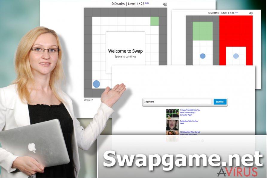 Illusztráció a Swapgame.net eltérítő vírusról