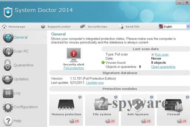 System Doctor 2014 kép