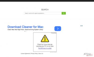 ColdSearch.com hijack