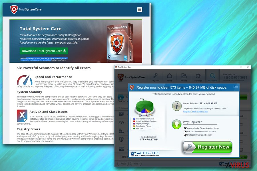 Total System Care kép
