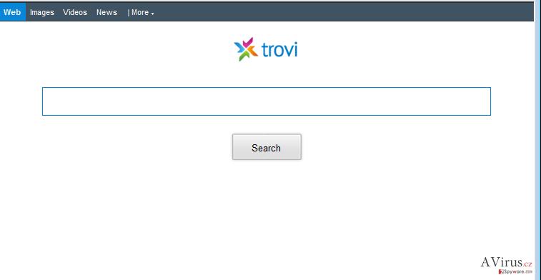 Trovi.com átirányító kép