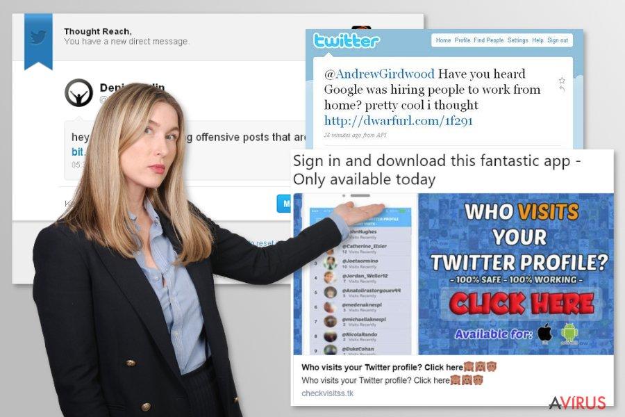 Twitter vírus