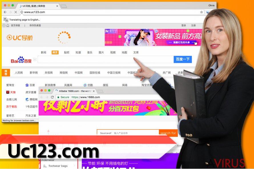 Uc123.com vírus