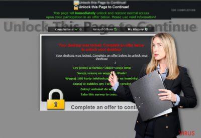 """Az """"Unlock this Page to Continue"""" értesítése"""