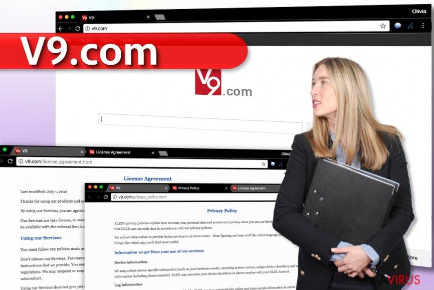 v9.com vírus kép