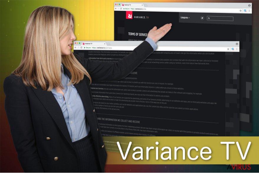 A Variance TV vírus illusztrációja