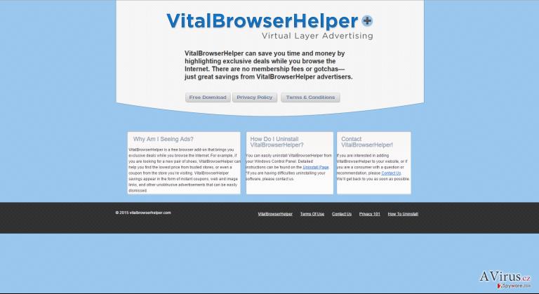 Vital Browser Helper