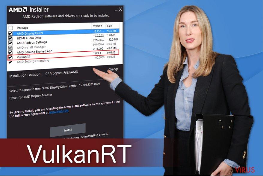 Illusztráció a VulkanRT-ről