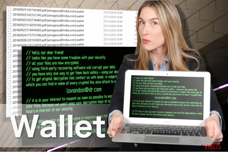 A Wallet ransomware