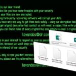 Wallet ransomware vírus kép