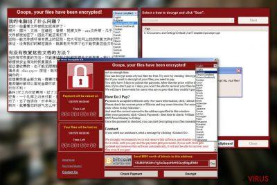 A WanaCrypt0r vírus