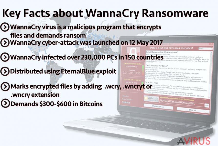 A fő tudnivalók a WannaCry ransomware vírusról