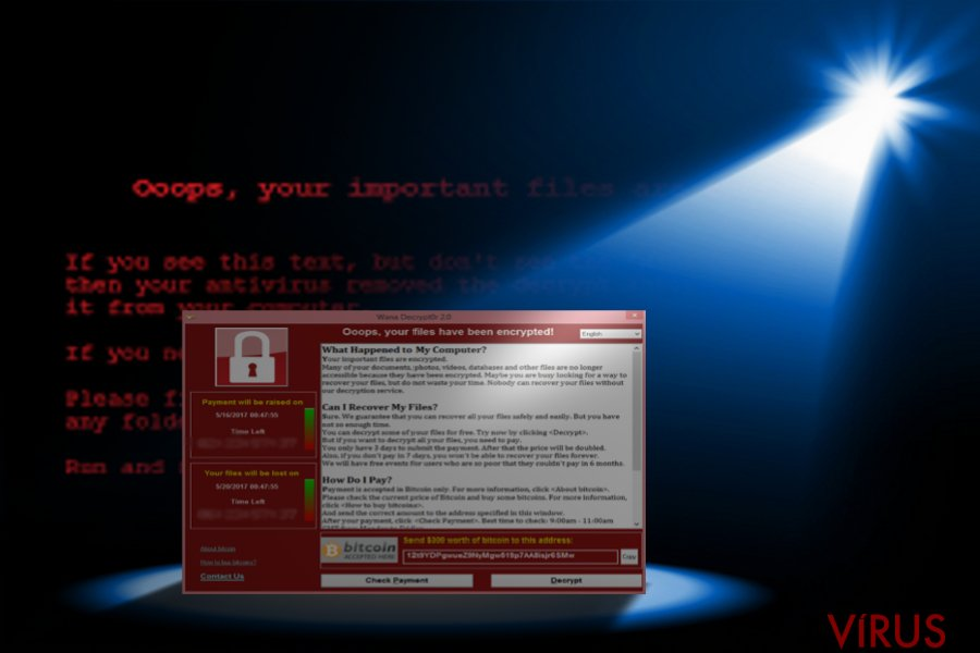 The picture showing the emrgence of WannaCry 3.0