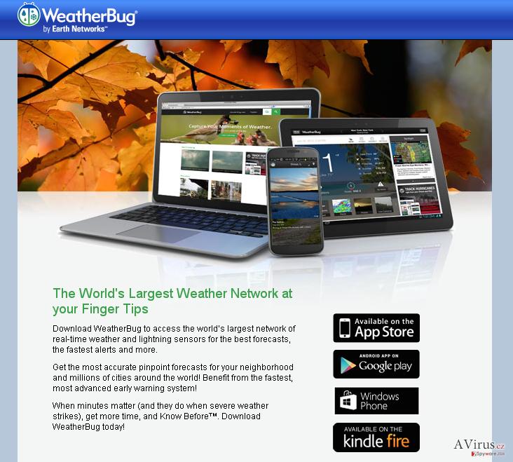 Weather Bug hidetések kép