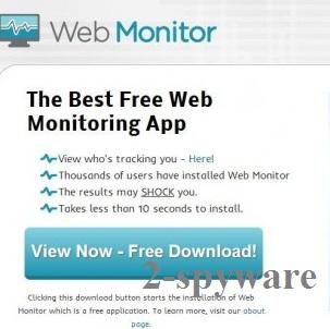 Web Monitor kép