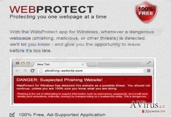 Web Protect vírus kép