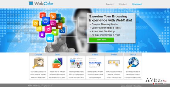 WebCake kép