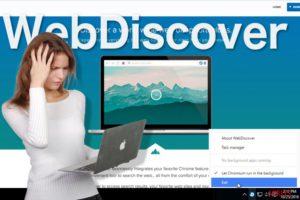 WebDiscover böngésző