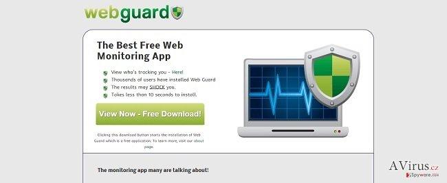 Web Guard vírus kép