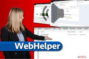 WebHelper vírus