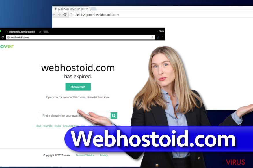 A Webhostoid.com vírus
