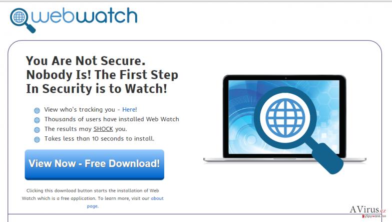 Web Watch hirdetések kép