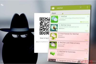 WeChat vírus