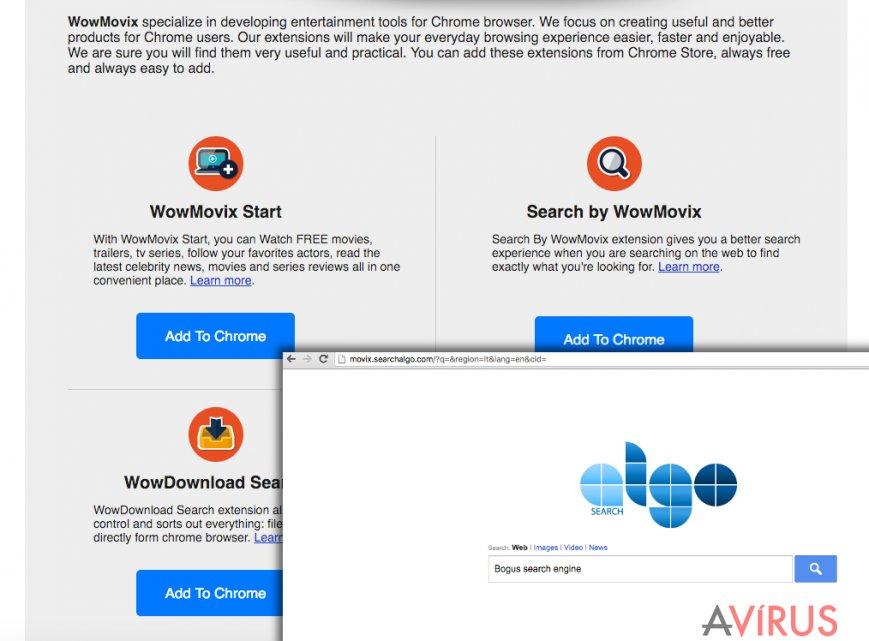 A WowMovix weboldala
