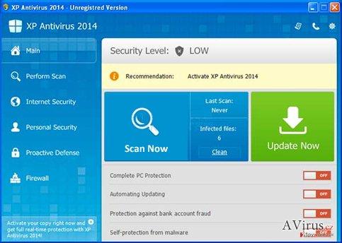 XP Antispyware 2014 kép